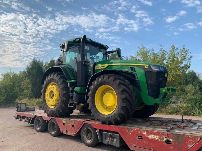Трактор нового покоління на Битві Агротитанів   Битва Агротитанів